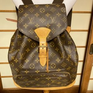 LV Montsouris Backpack GM 🎒